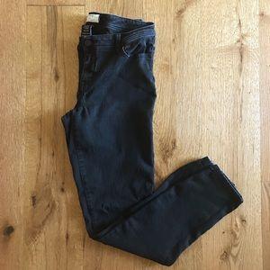 Torrid black stretchy jean mid rise size 14